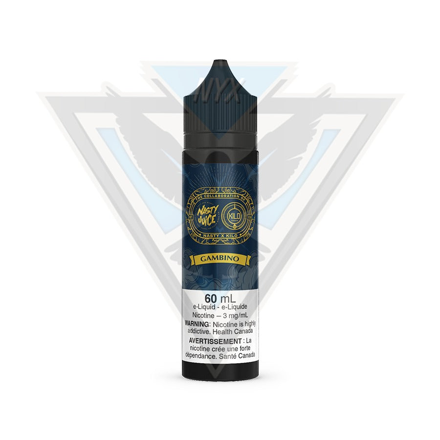 GAMBINO BY NASTY X KILO E-LIQUID 60ML - NYX ECIGS-VAPE