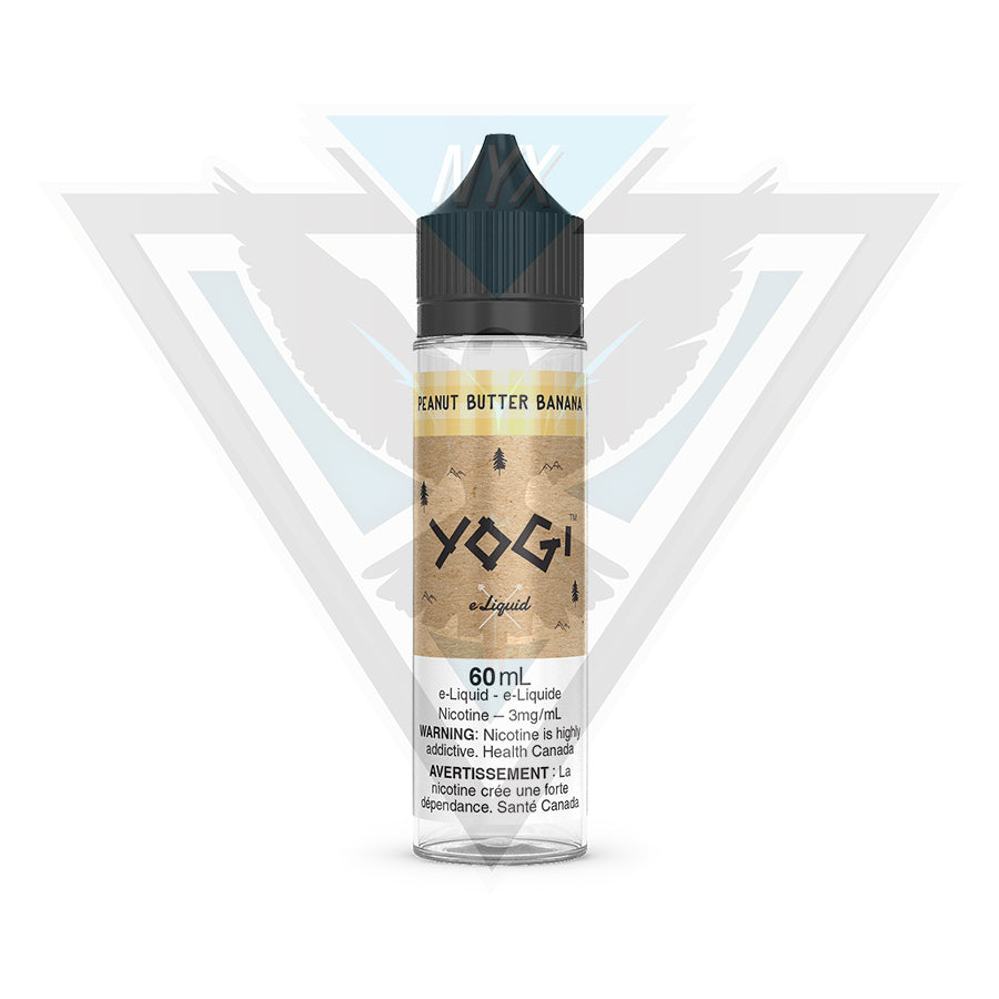 PEANUT BUTTER BANANA BY YOGI E-LIQUID 60ML - NYX ECIGS