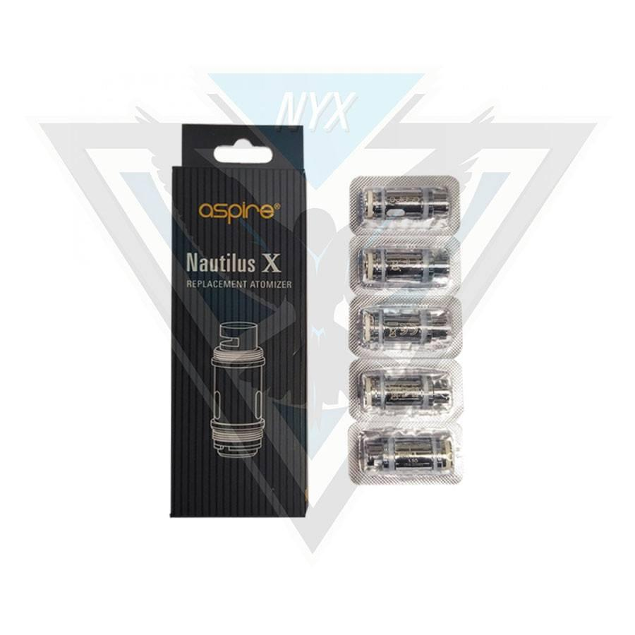 ASPIRE NAUTILUS X U-TECH COILS (5 PACK) - NYX ECIGS