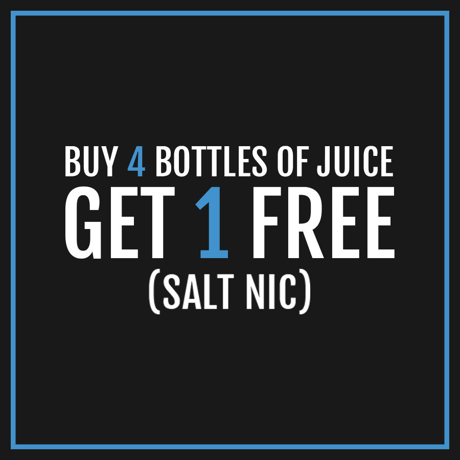 [BUY 4 GET 1 FREE] 150ML SALT NIC E-LIQUID BUNDLE - NYX ECIGS