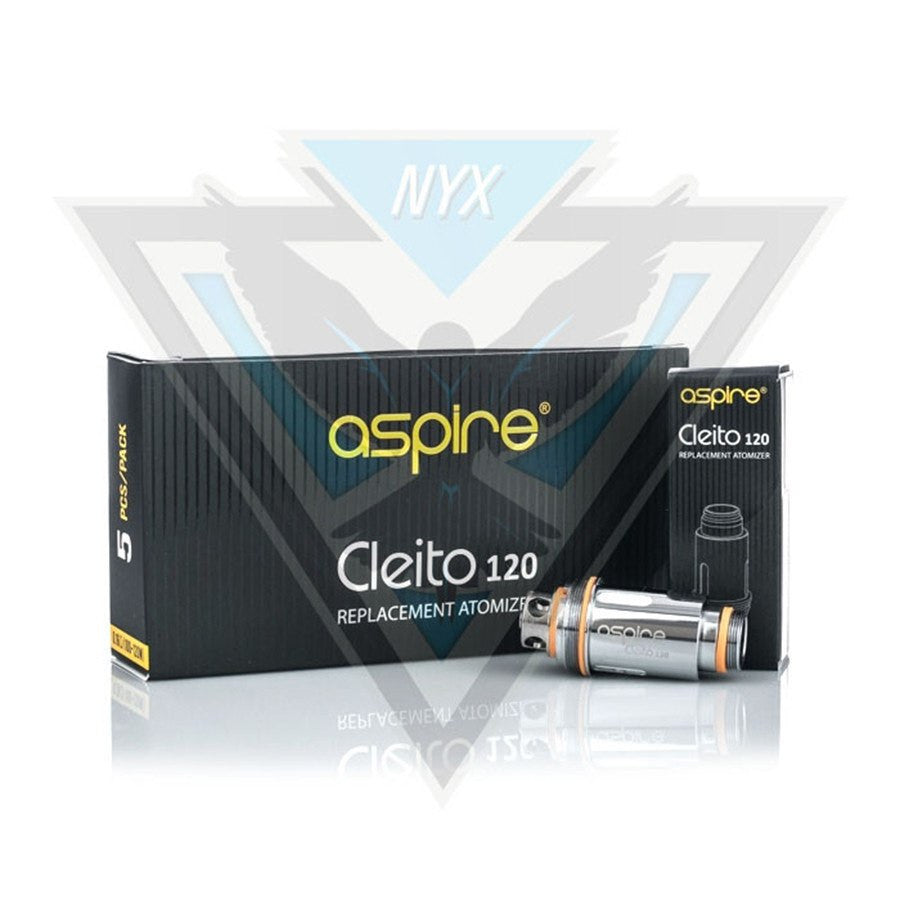 ASPIRE CLEITO 120 COILS (5 PACK) - NYX ECIGS