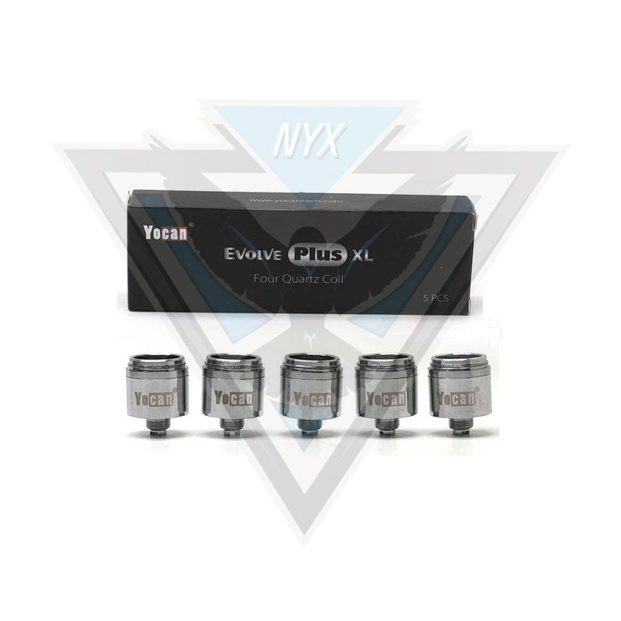 YOCAN EVOLVE PLUS XL REPLACEMENT COILS (5 PACK) - NYX ECIGS