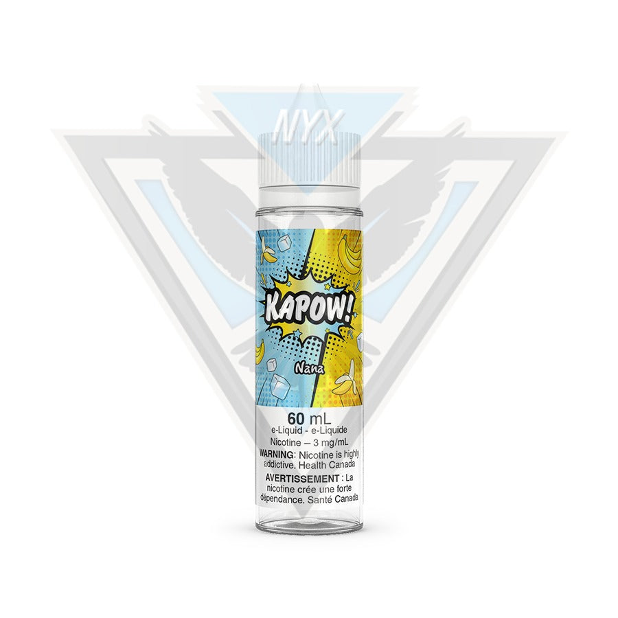 KAPOW NANA E-LIQUID 60ML - NYX ECIGS