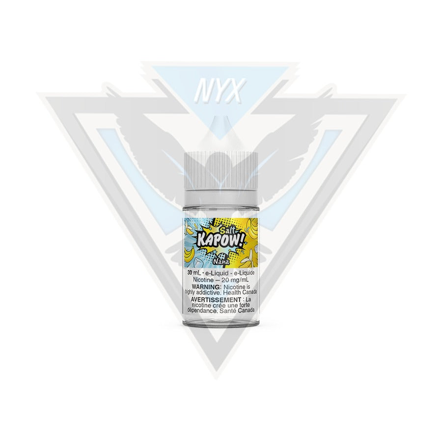 KAPOW NANA SALT E-LIQUID 30ML - NYX ECIGS