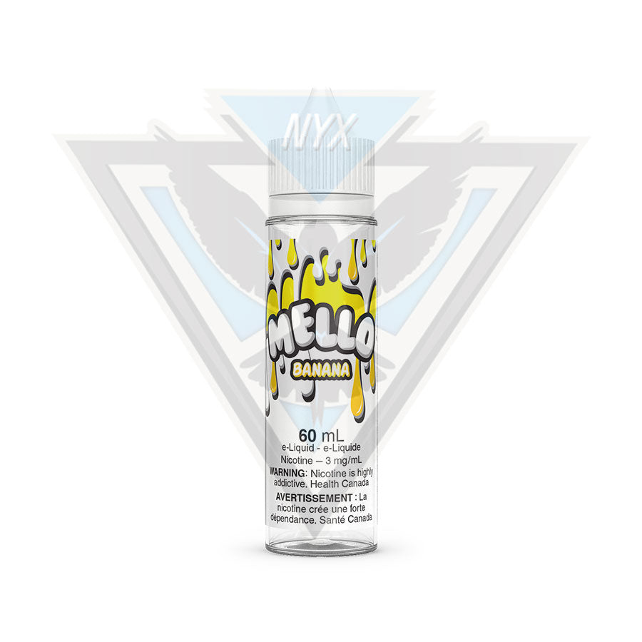 BANANA BY MELLO E-LIQUID 60ML - NYX ECIGS-VAPE