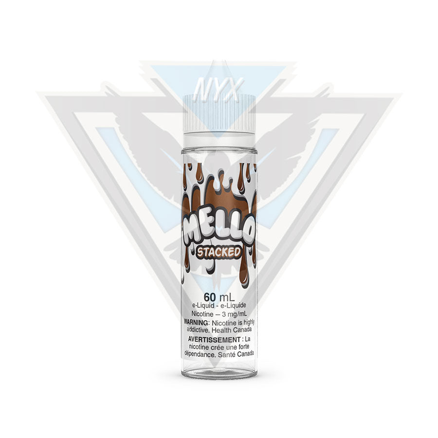 STACKED BY MELLO E-LIQUID 60ML - NYX ECIGS