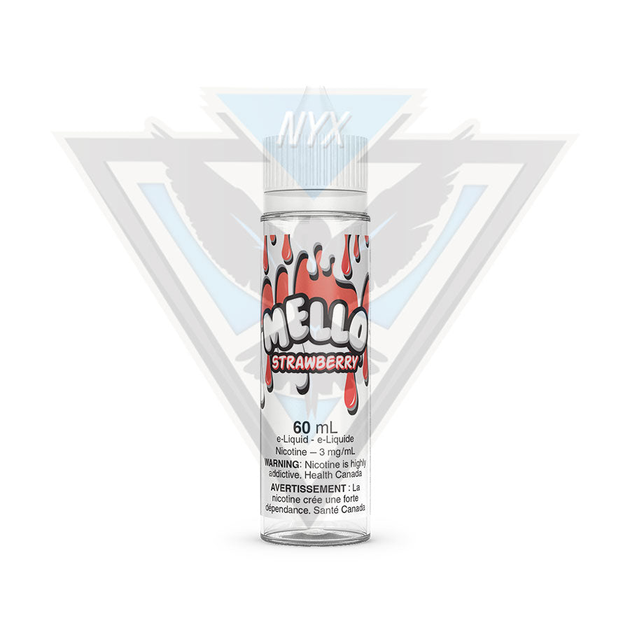 STRAWBERRY BY MELLO E-LIQUID 60ML - NYX ECIGS