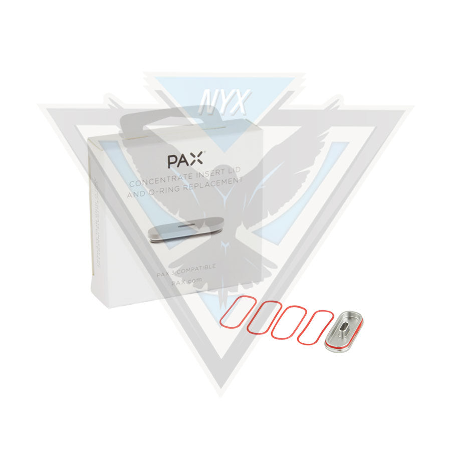 PAX CONCENTRATE INSERT LID AND O-RING REPLACEMENT - NYX ECIGS