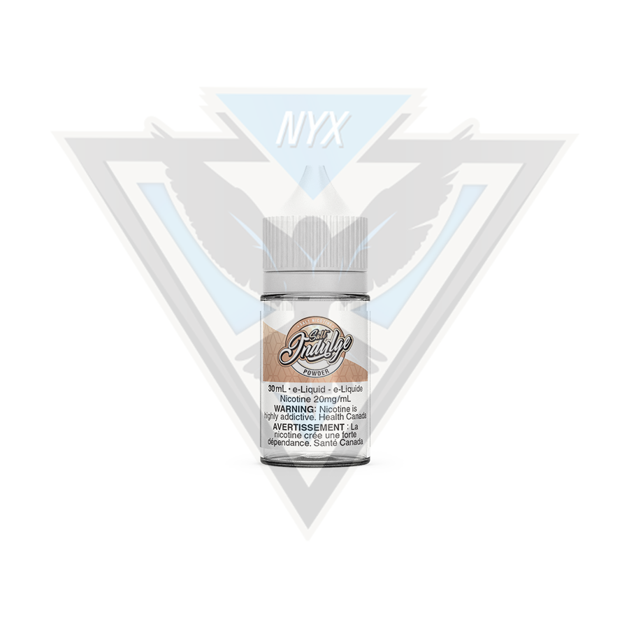 POWDER BY INDULGE SALT E-LIQUID 30ML - NYX ECIGS-VAPE