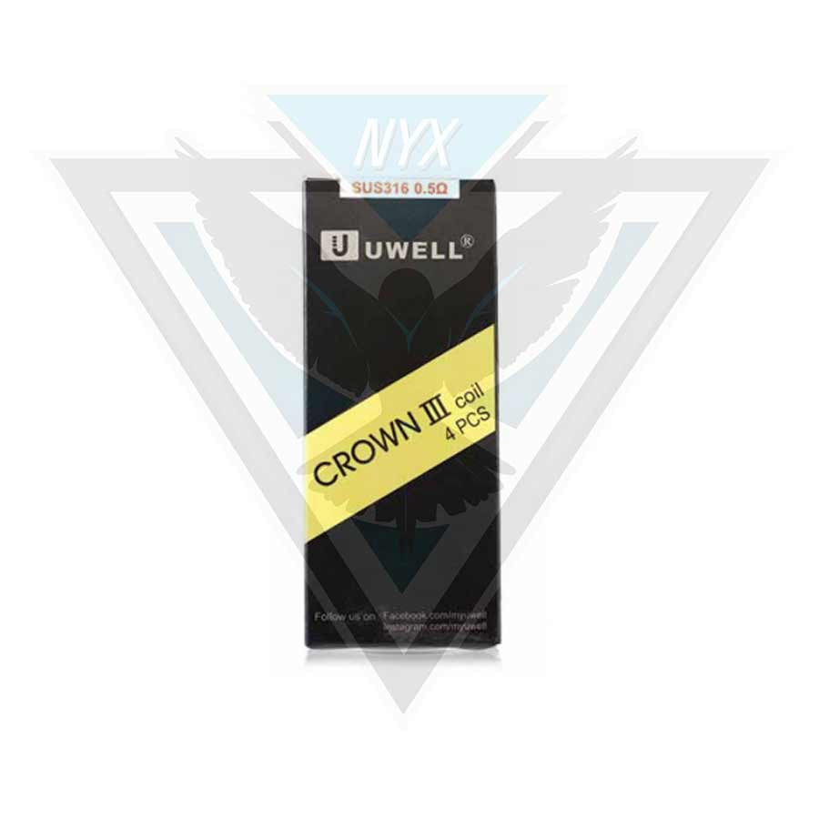 UWELL CROWN 3 COILS (4 PACK) - NYX ECIGS