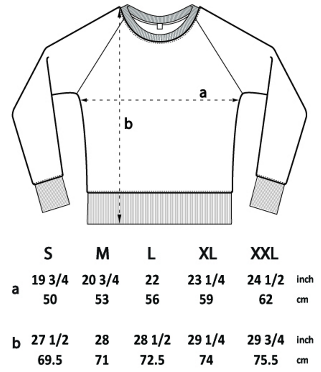 Men's Jumper Size Guide