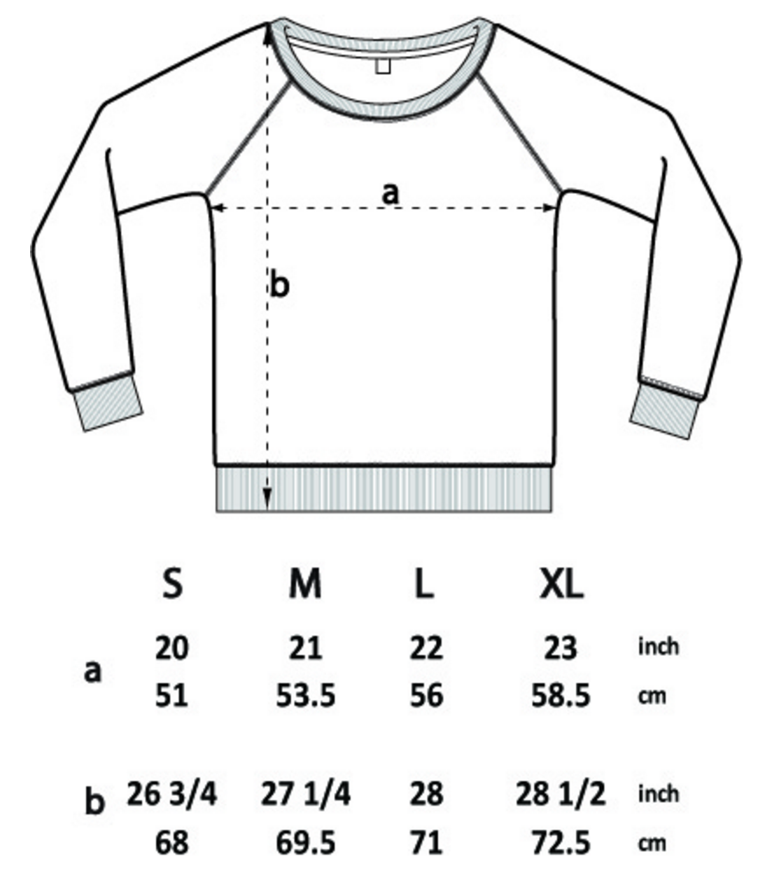 Women's Jumper Size Guide