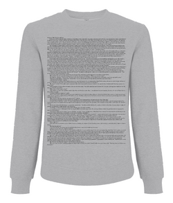 Sherlock Holmes: A Study in Scarlet (Classic) - Men's Jumper - White Chapter