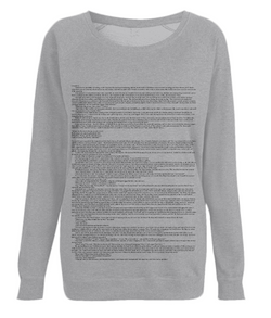Jane Eyre (Classic) - Women's Jumper - White Chapter