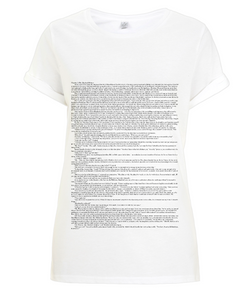 Sherlock Holmes: A Study in Scarlet (Classic) - Women's T-Shirt - White Chapter