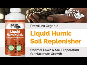 Premium Organic Liquid Humic Soil Replenisher