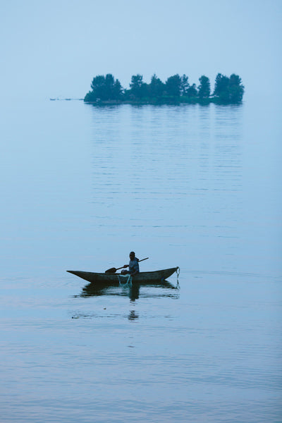 Dusk on Lake Kivu