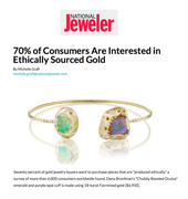 Dana Bronfman Featured in Story about Responsible Gold in National Jeweler