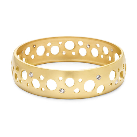 Concave Cutout Bangle