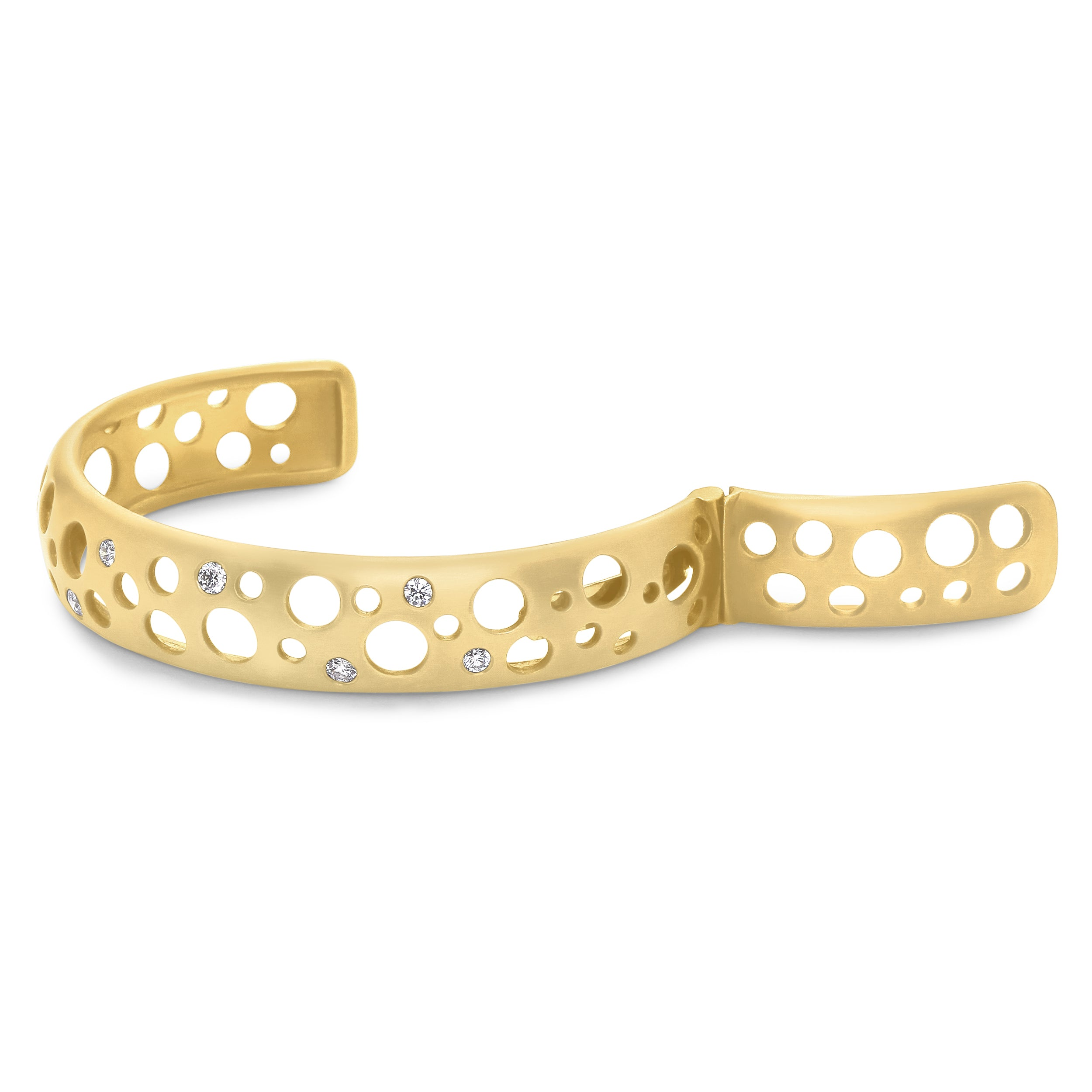 Holly Click Hinged Cuff Bracelet