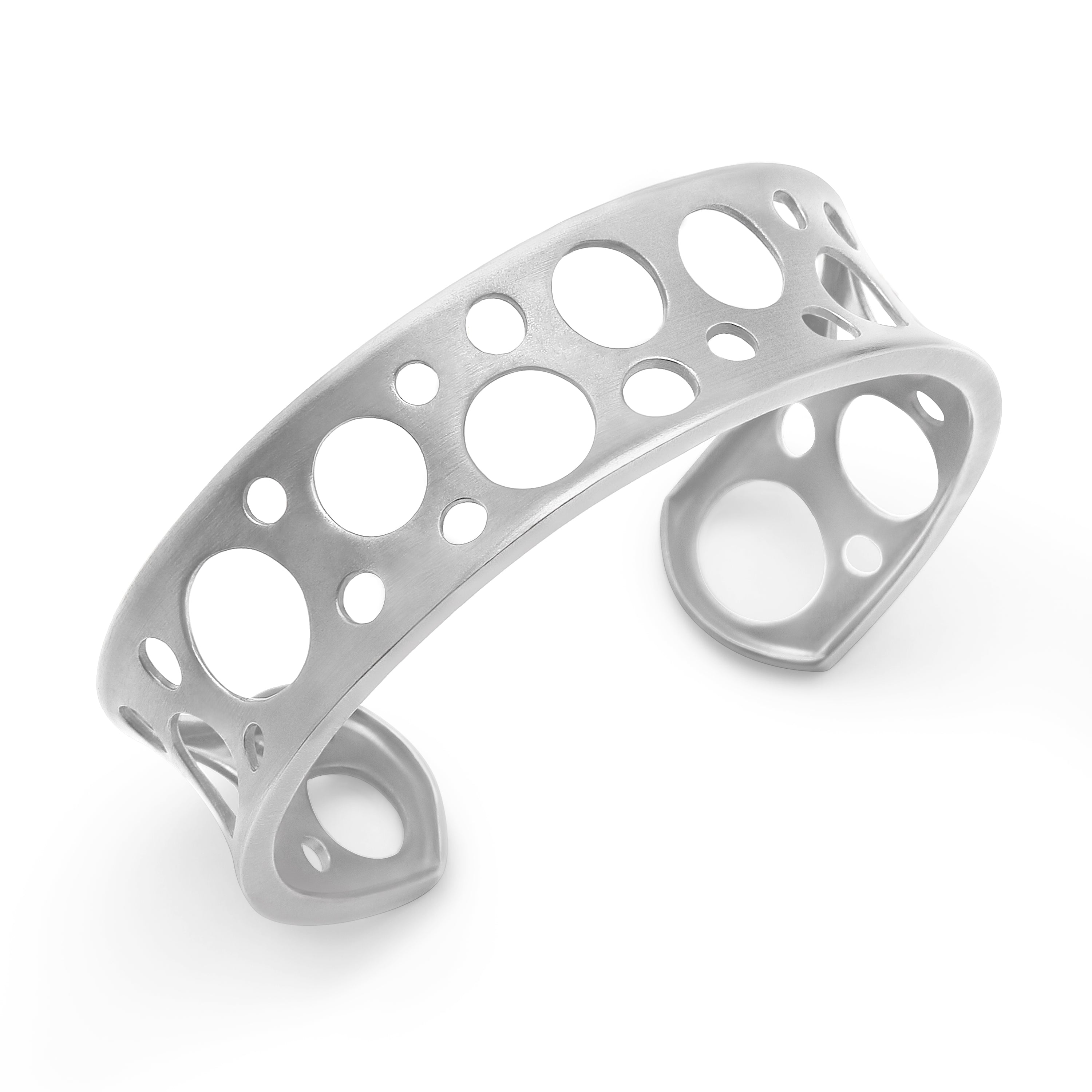 Sterling Silver Holly Cuff