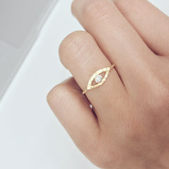 Tiny Eye Ring