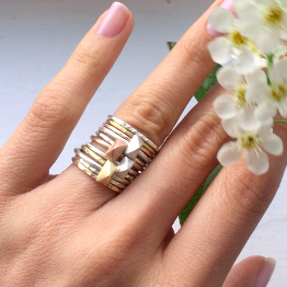 Tiny Pyramid Ring