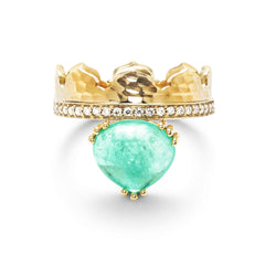 Dana Bronfman x Muzo Emeralds Agra Crown Ring