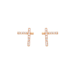 Diamond Tiny Diana Stud Earrings