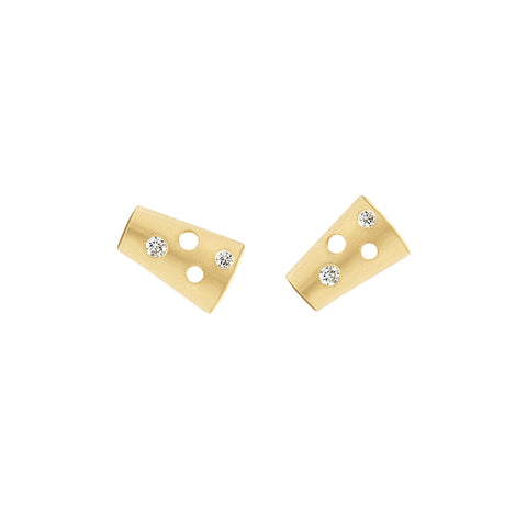 Diamond Helena Stud Earrings