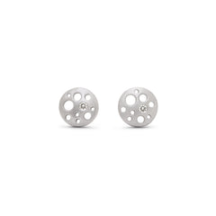 Very Tiny Coin Stud Earrings