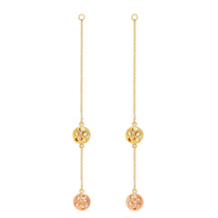 Double Coin Reversible Earring Extenders