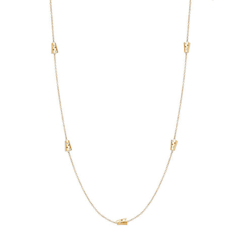 Tiny Helena Chain Necklace