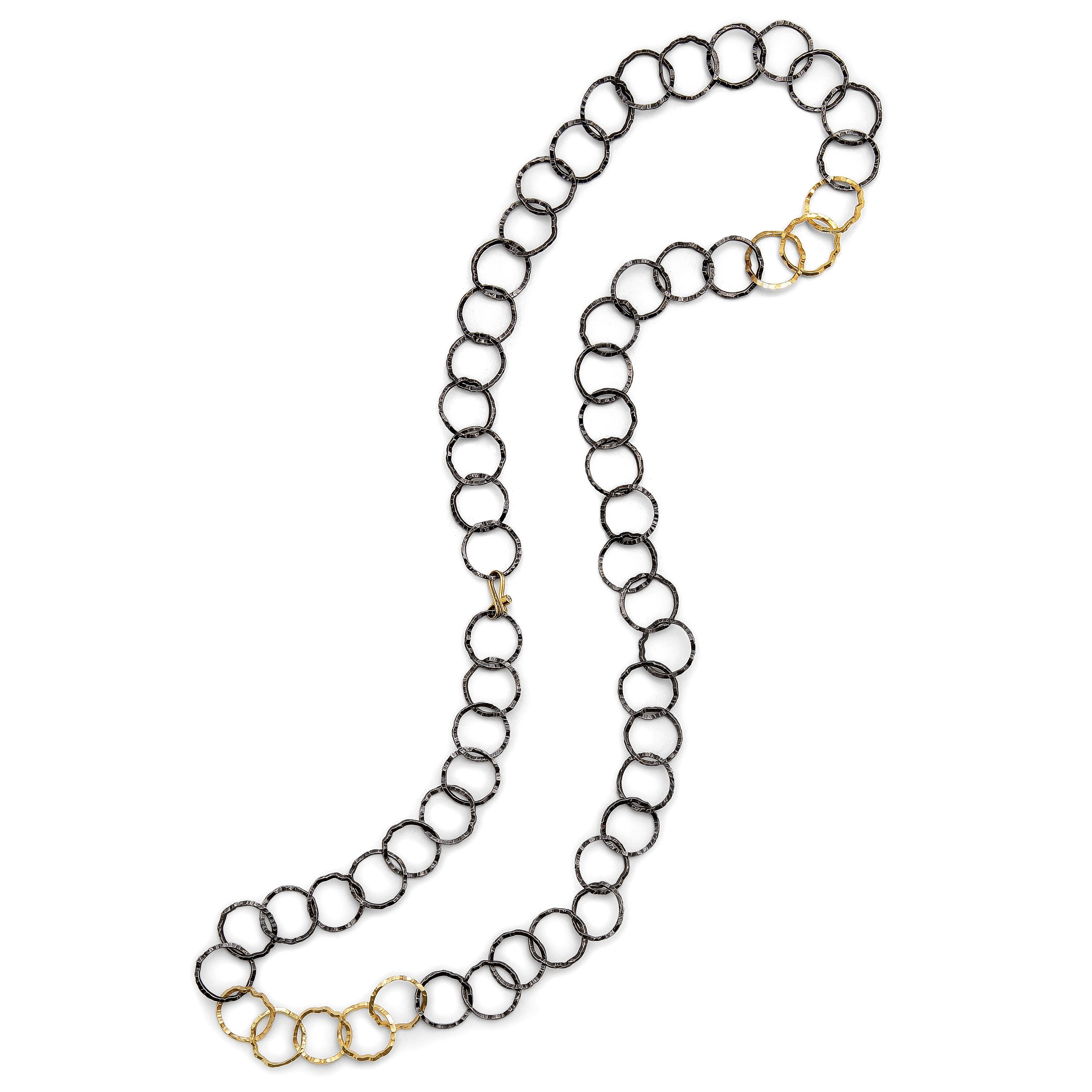 Open Silhouette Chain Convertible Necklace/Bracelet