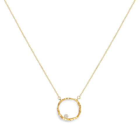 Open Silhouette Necklace