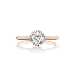 Signature Pronged Bezel Setting Solitaire Ring