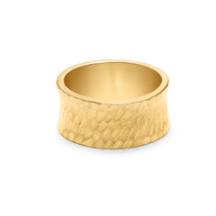 Gold Convex Ring