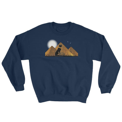 Bast Giza Sweatshirt in Navy