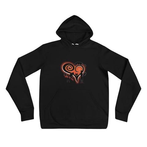 Lookin' for Love Hoodie in Black