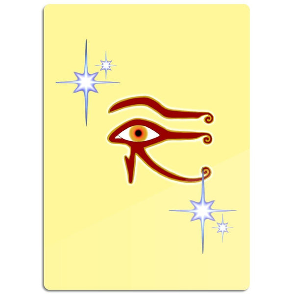 Eye of Isis/Auset Glass Cutting Board