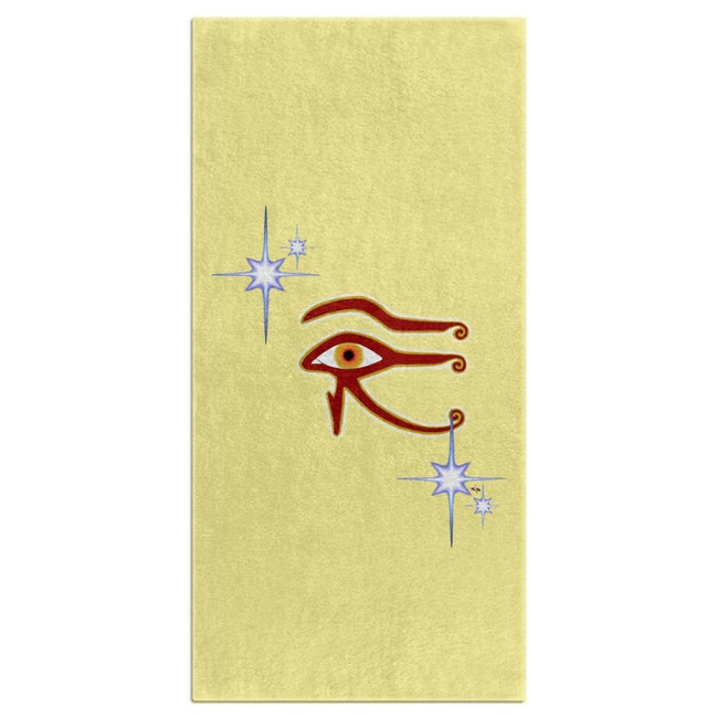 Eye of Isis/Auset Bath Towel