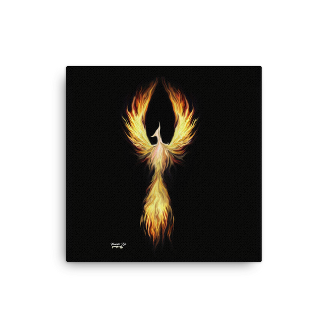 Phoenix Fyr on Canvas