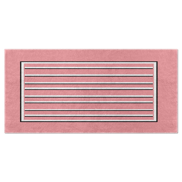 Love Stripes Beach Towel