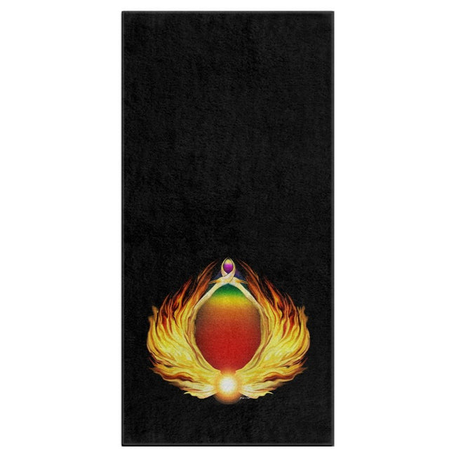 Phoenix Gate Bath Towel (HD)