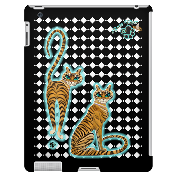 Tara's Tiger Twins iPad 3/4 Tablet Case