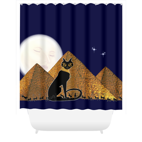 Bast Giza Shower Curtains