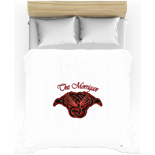 The Morrigan Raven-Knot Duvet Cover