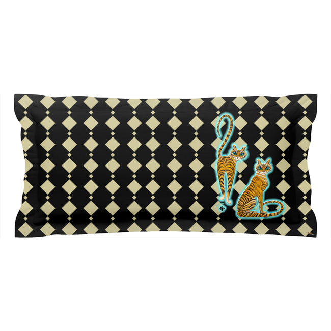 Tara's Tiger Twins Pillow Sham