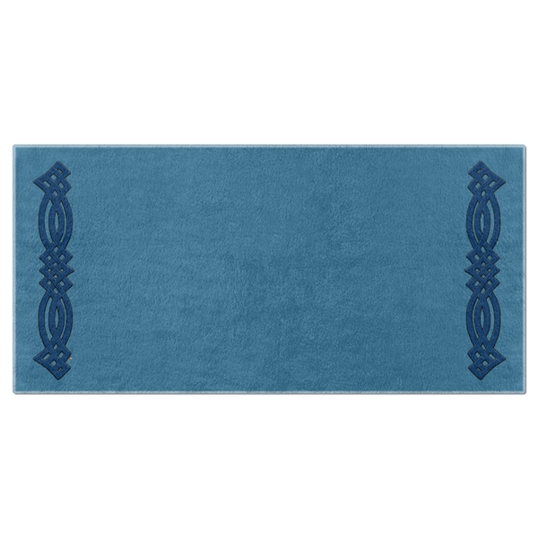 Gaelic Knotwork Bracket Beach Towel
