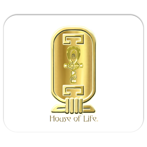 House of Life Cartouche' Mouse Pad